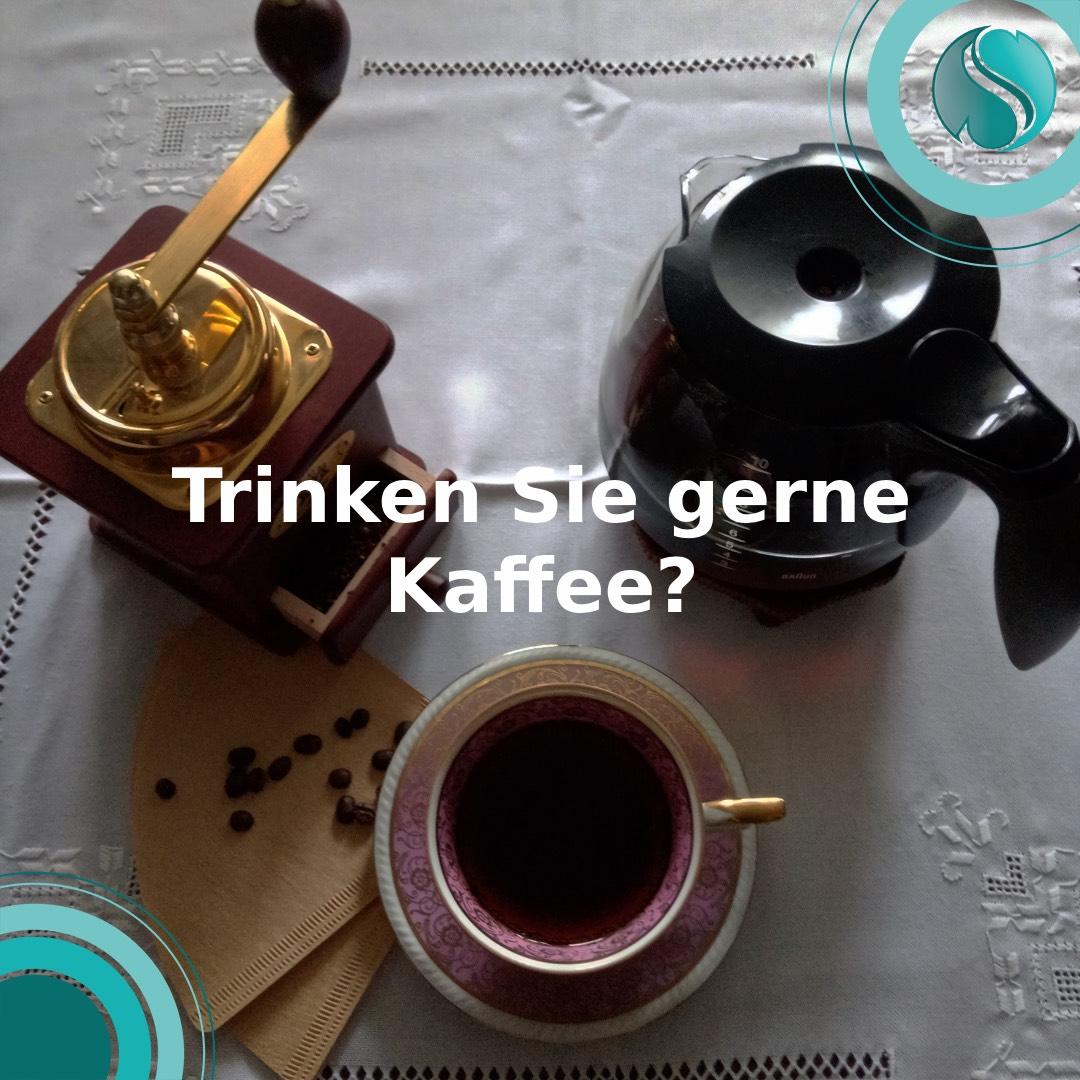 Trinken Sie gerne Kaffee?