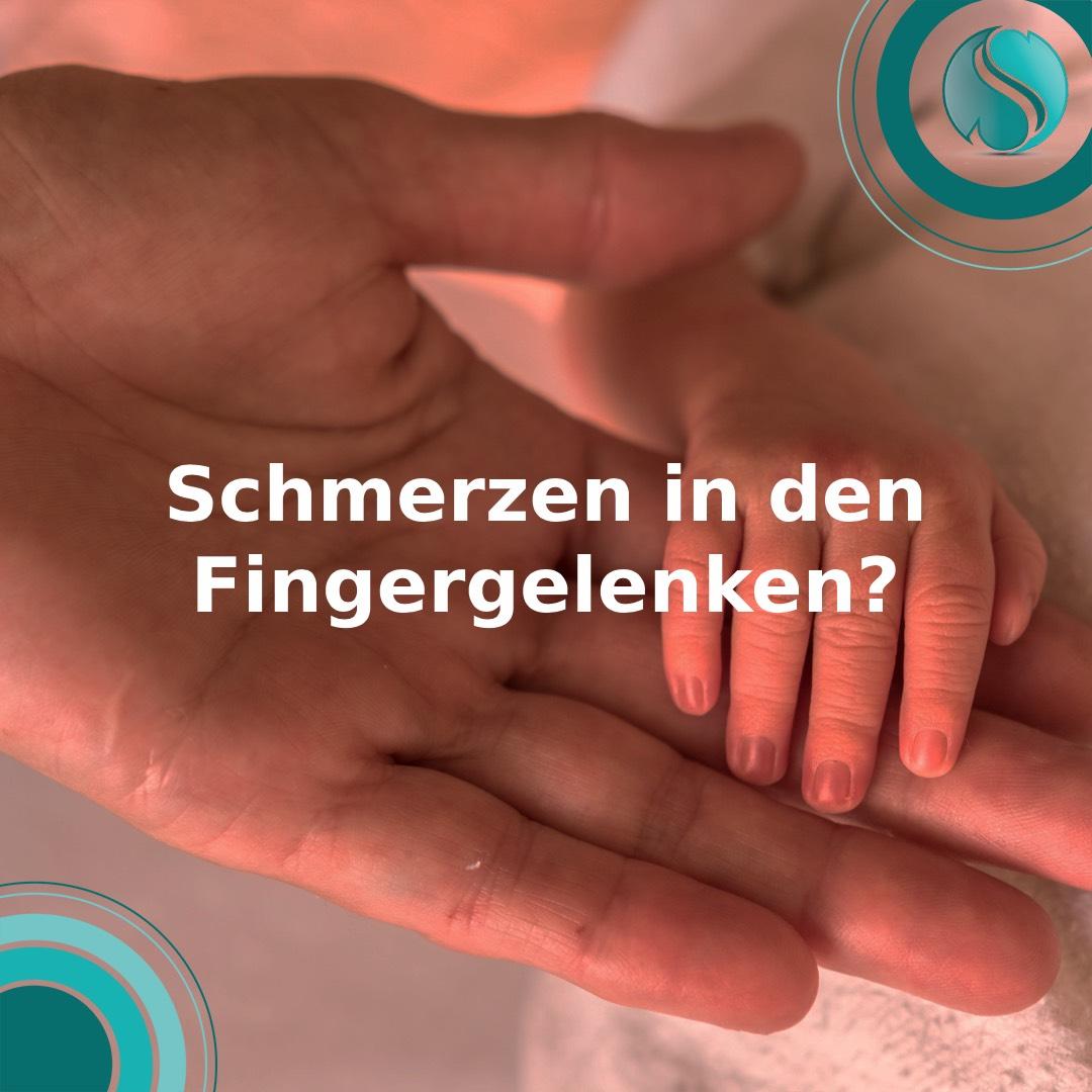Schmerzen in den Fingergelenken?